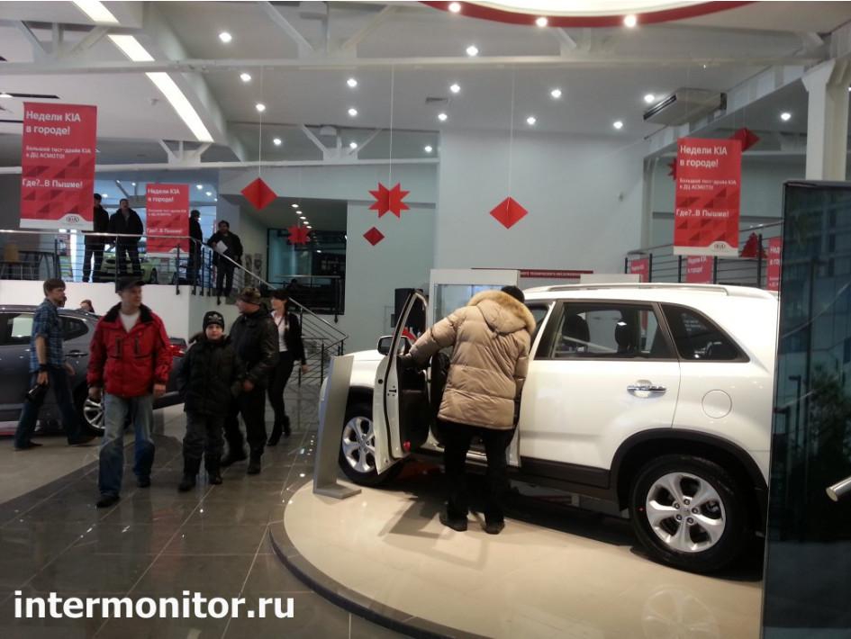 Большой тест-драйв KIA в Екатеринбурге. Асмото 2.