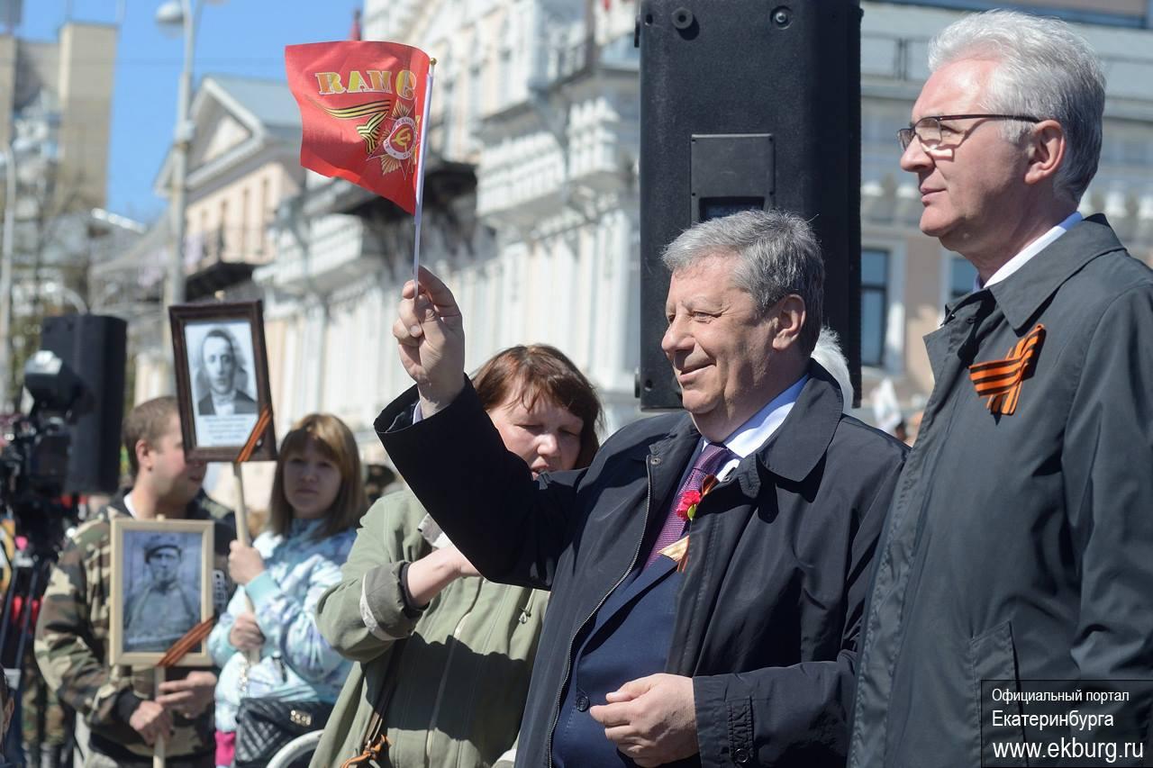 Аркадий Чернецкий 9 мая 2016 года